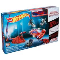 Hot Wheels Homem Aranha Spider-man Pistas Básicas - Mattel