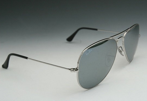 gafas ray ban espejo plata