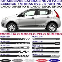 Acessorios Adesivo Lateral Novo Palio Attractive Essence