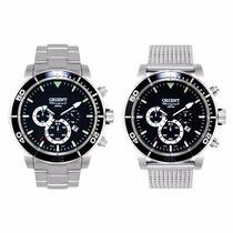 Relógio Orient Mbssc109 P1sx+ 2 Pulseiras 300m Mergulho
