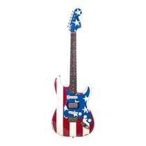 Guitarra Strato Fender Signature Wayne Kramer Stars And Stri
