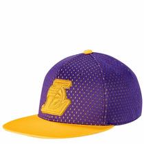 Gorra Vicera Snapback Adidas Angeles Lakers Basquet Nba