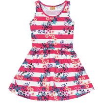 Vestido Estampado Flores Mineral 11203051 - Pink - 1p