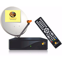 Kit Oi Tv Livre Hd C/ Antena+receptor Etrs35 P Sat Ses6 !