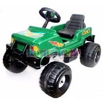 Jeep A Pedal 4x4 Ytaly Reforzado Butaca Ruedas Patonas