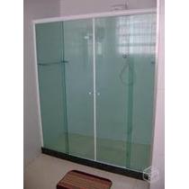 À Retirar - Box Em Vidro Verde/fumê/bronze (até 2,00x1,50)