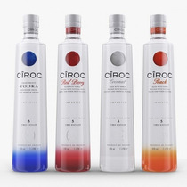 Vodka Ciroc Sabores 750ml Peach / Coconut / Redberry