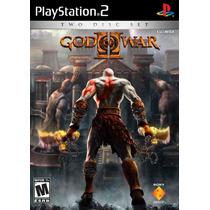 God Of War (coleção 3 Jogos) Ps2 - Frete Gratis