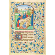 Lienzo Tela Manuscritos Iluminados El Entierro Arte Sacro