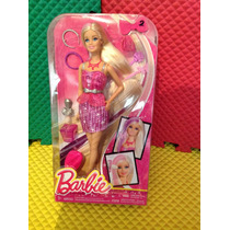 Muñeca Barbie Diversos Looks, De Peinado Y Maquillaje.