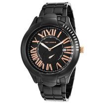 Reloj Ted Lapidus 5125107sm Es Black Ion Plated Stainless