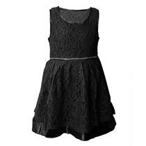 Vestido De Nena Importado De Encaje, Brishka N-0036