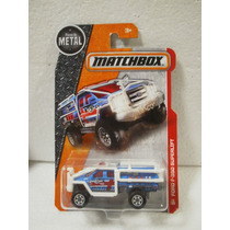 Matchbox Camion Ford F-350 Superlift Azul 73/125