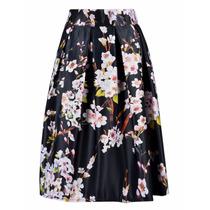 Saia Floral Vintage - Frete Grátis