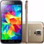 Galaxy S5 16gb G900m Dourado Seminovo Usado Original