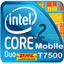 Gratis Intel Core 2 Duo Laptop 2.20/4mb/800 Procesador T7500