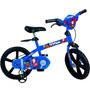 Bicicleta Aro 14 Super Homem - 2356 Infantil Bike Novo