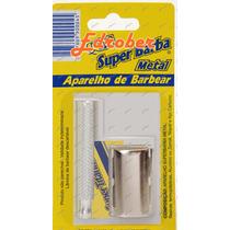 Aparelho Barbear + 5 Lâminas Frete Grátis Gilete Rosto Pele