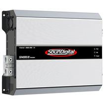 Modulo Amplificador Soundigital Sd 4000w Rms Mono Rca 1 Ohms