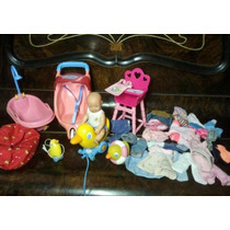 Boneca Baby Born Mini Completo Enxoval E Acessórios