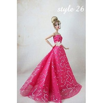 Barbie Doll Clothes Preciosas Fancy Vestidos De Boda Del Par