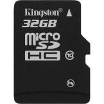 Cartão Memória Micro Sd 32gb Classe 10 ,leitor Usb Kingston