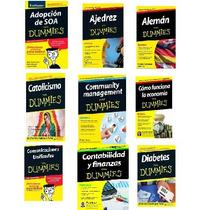 Libros Para Dummies Pdf: Adopción, Ajedres,aleman $19