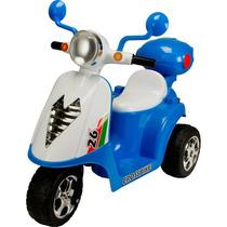 Mini Moto Eletrica Scooter Infantil Triciclo Menino Criança