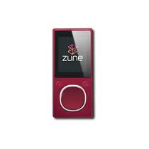 Microsoft - Zune 4 Gb * Reproductor De Mp3 - Rojo