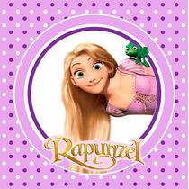 Kit Imprimible Rapunzel Enredados Invitaciones Candy Bar 2x1