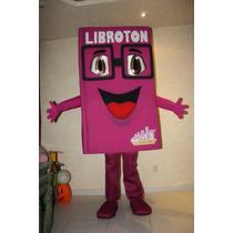 Botarga De Libro, Rosa Mexicano, Ideal Para Librerías Ferias