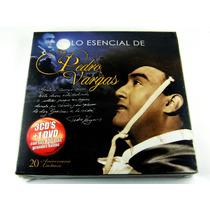 Lo Esencial De Don Pedro Vargas 3 Cd´s + Dvd Nuevo Ed 2010