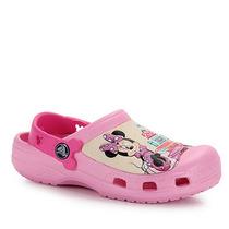Sandália Infantil Crocs Minnie Mouse - 22 Ao 30 - Rosa
