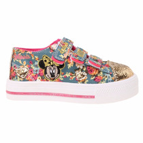 Zapatillas Disney Minnie Con Luces Addnice - Mundo Manias