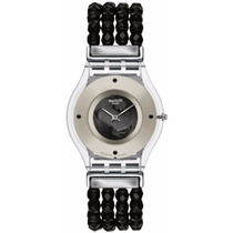 Relogio Feminino Swatch Sfz116b Be Black Original
