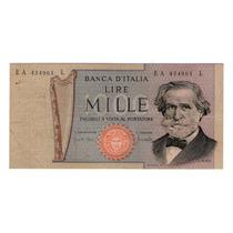 Argentvs * Italia Billete De 1000 Lire 1969 - P#101a
