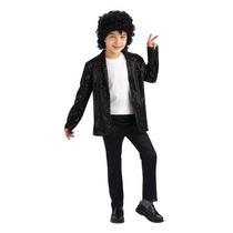 Michael Jackson Traje Infantil Deluxe Billie Jean Lentejuel