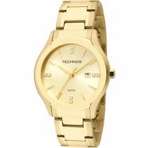 Relógio Technos Feminino Elegance Classic 2015bzr/4b Origina
