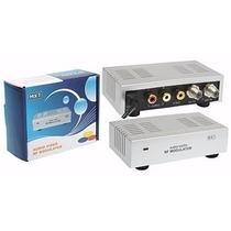 Mini Modulador De Rf Canal 3 Ou 4 Alimentação Bivolt Oi Tv