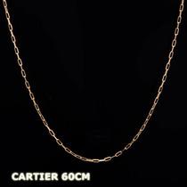 Corrente Cartier Em Ouro 18k - 750 - 2,00grs - 60cm