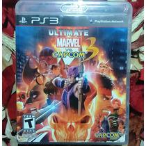 Ultimate Marvel Vs Capcom 3 - Mídia Física - Raro - Ps3