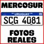 Matriculas Mercosur Rigidas! Fotos Reales!!