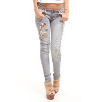 Pantalón Blue Jean Botones Cuadrado Edición Especial