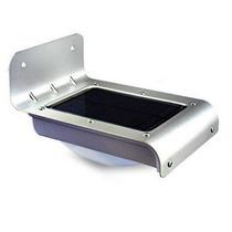 Lámpara Solar Led C/ Sensor Luz Y Movimiento Enc. Automatico