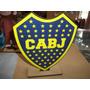 Estampaditos Boca Juniors Para Centro De Mesa De 16 Cm