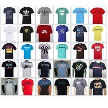 Kit 10 Camisetas Camisa Armani Ralph Lauren Calvin Klain
