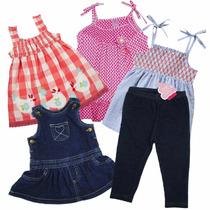 Niñas Bebes 12 A 24 Meses Pañaleros Blusas Playeras Vestidos