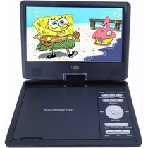 Tv Digital Portatil Pantalla Lcd 7 Con Dvd Usb Sd Juegos Mp3