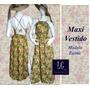 Sexy Y Coqueto Maxi Vestido (moda Mujer)