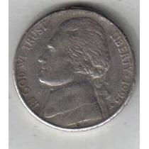 Estados Unidos Moneda De 5 Cents Año 1995 P !!!!